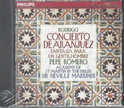 RODRIGO:CONCEIERTO DE ARANJUEZ BY ACADEMY OF ANCIENT M (CD)